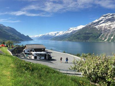 Campings in Fjord Noorwegen