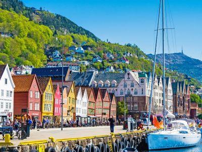 Bergen: prachtige stad aan de westkust