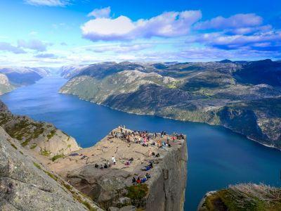 Bezoek Stavanger en een wandeling naar de spectaculaire klif Preikestolen
