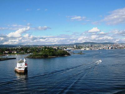 Met de veerboot naar Noorwegen
