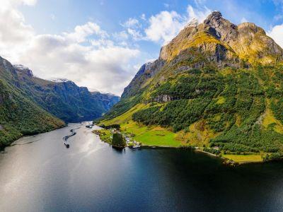 De Sognefjord, de koning van de fjorden van Noorwegen