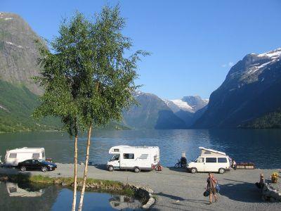 Campings in Sogn og Fjordane bij Olden, Stryn, Nordfjord