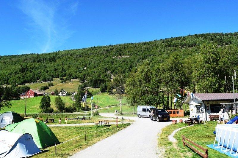 Birkelund Camping entree