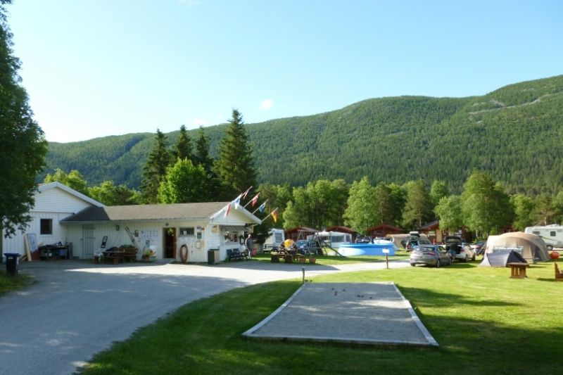 Birkelund Camping overzicht