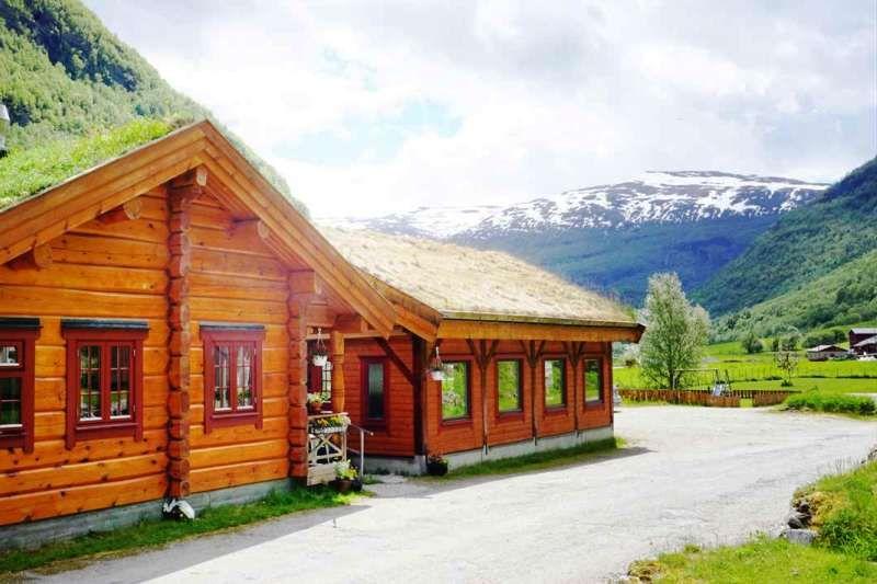 Borgund Hyttesenter og Camping Receptie en Gatekjokken