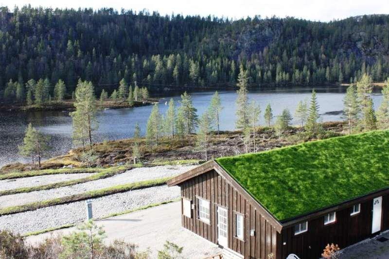 Bortelid Camping ligging en sanitairgebouw