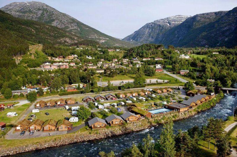 Camping Mikkelparken Ferietun Ligging
