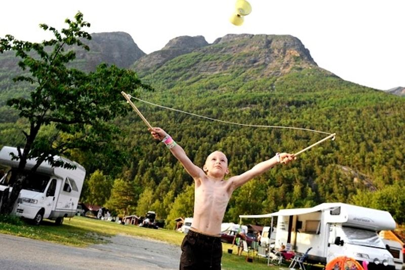 Camping Mikkelparken Ferietun Kampeerplaatsen