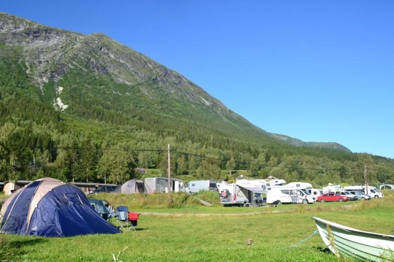 Camping Nissegarden Hytter og Aktiviteter Kampeerplaatsen