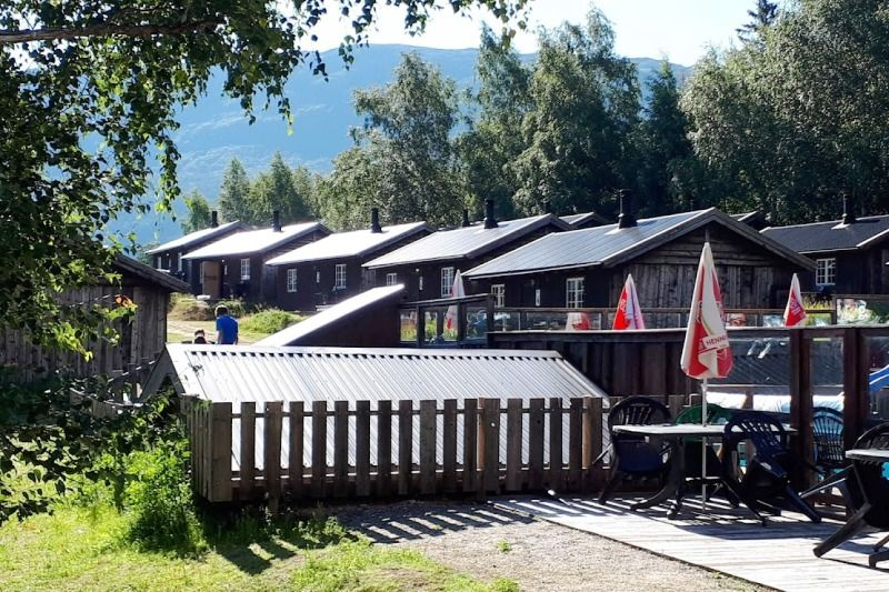 Camping Nissegarden Hytter og Aktiviteter Lom Zwembad en Vakantiehuisjes