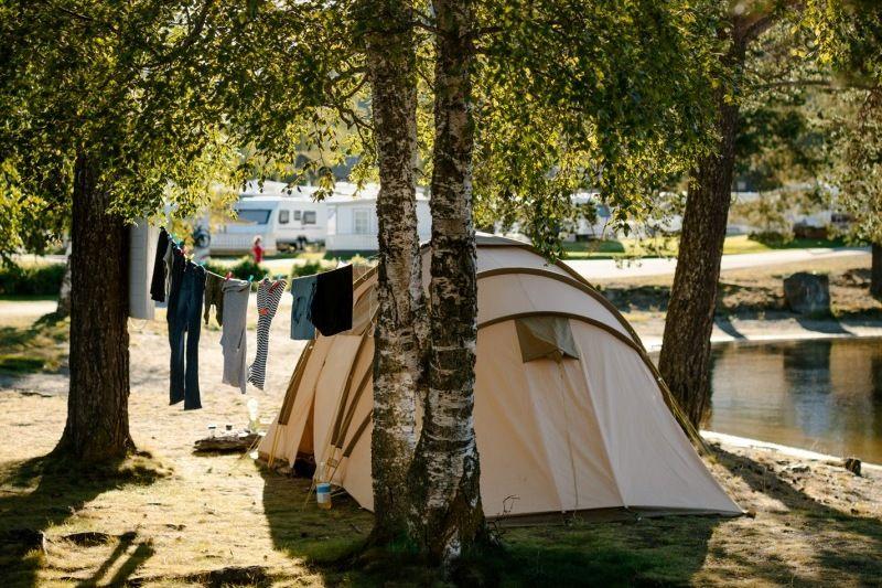 Fagernes Camping tentplaatsen