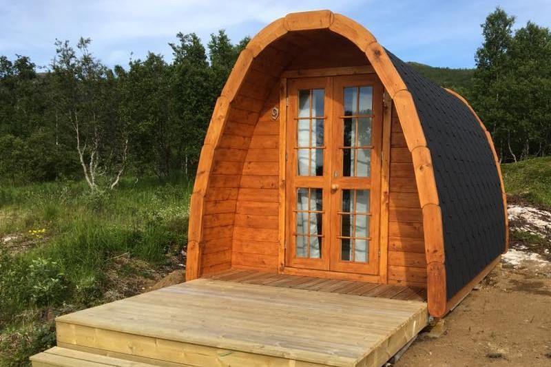 Fjordbotn Camping Accommodaties