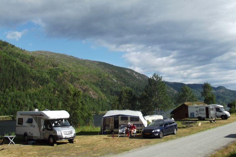 Fjordglott Camping Rodberg ligging