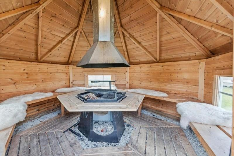Follingstua Camping Steinkjer grillplaats