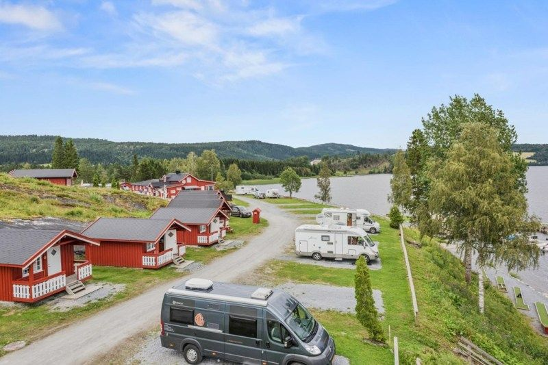 Follingstua Camping Steinkjer Kampeerplaatsen