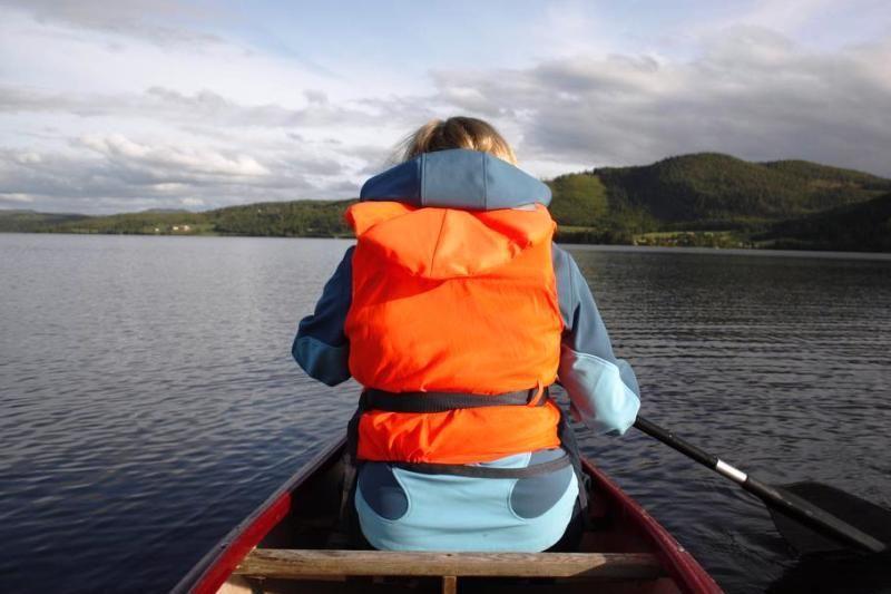 Follingstua Camping Steinkjer kanovaren Snasameer