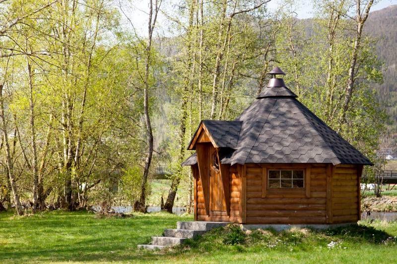 Forde Guesthouse og Camping grillhut