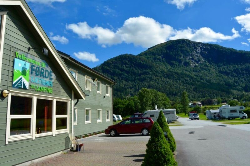 Forde Guesthouse og Camping Receptie