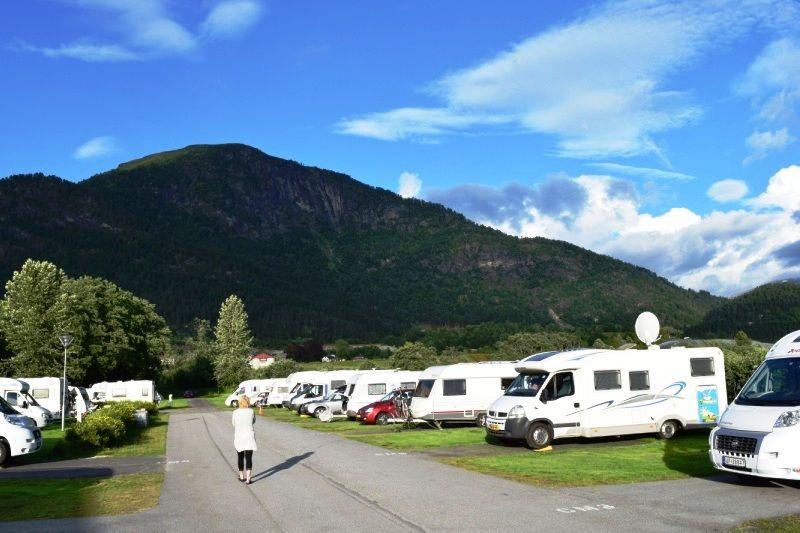 Forde Guesthouse og Camping kampeerplaatsen