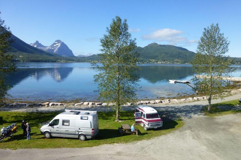 Furoy Camping Halsa uitzicht