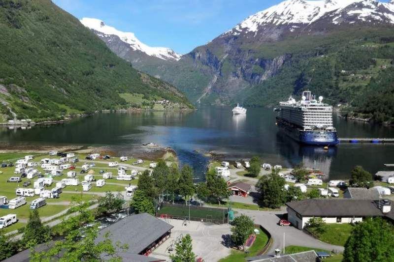 Geiranger Camping Geirangerfjord