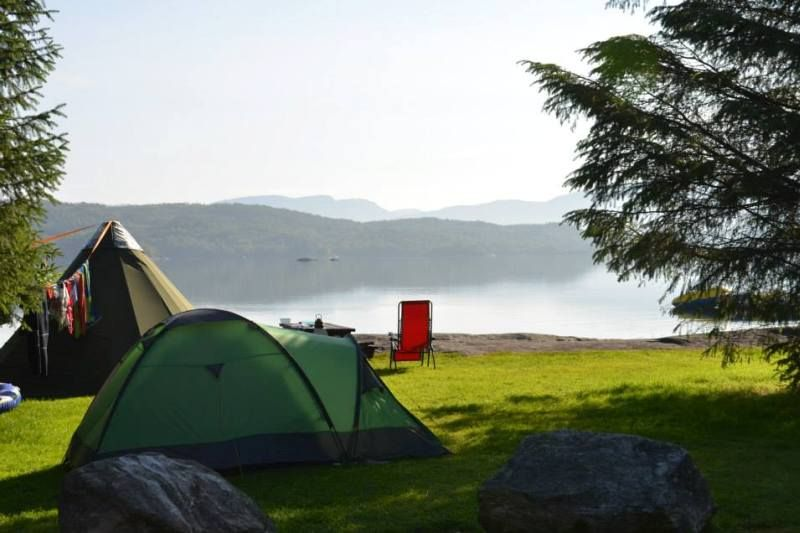 Grindafjord Feriesenter tentplaatsen