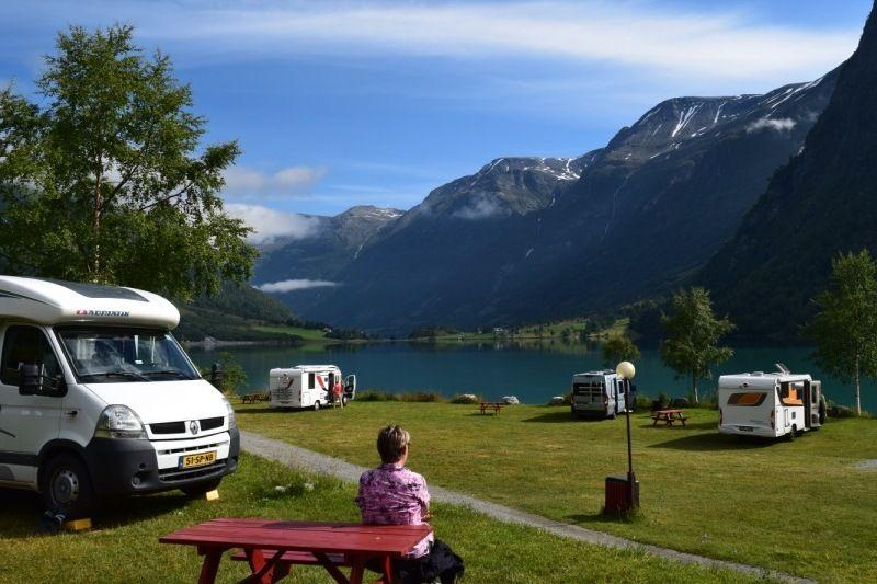 Gryta Camping Olden Kampeerplaatsen