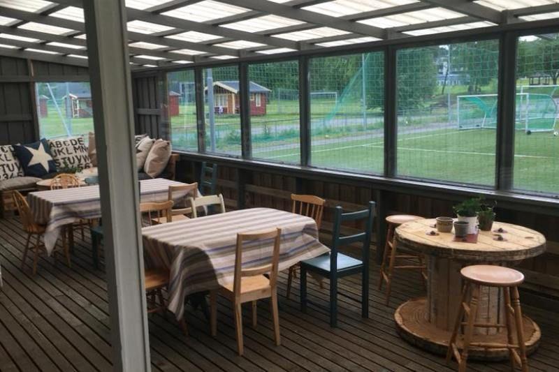 Guldbergaunet Camping Steinkjer verblijfsruimte