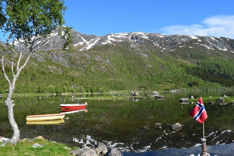 Gullesfjord Camping omgeving