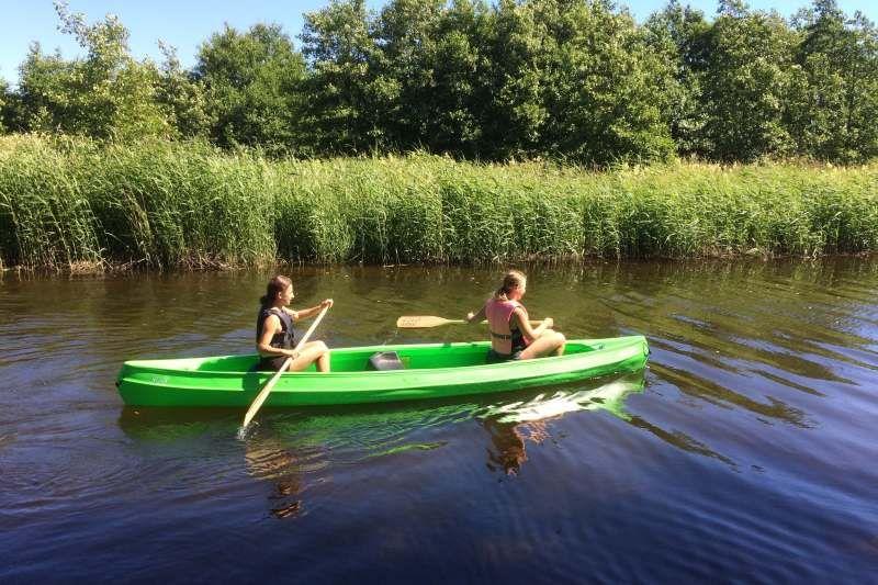 Guslandstranda Camping kanovaren