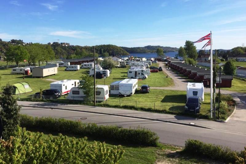 Hamre Familiecamping vlakbij Kristiansand