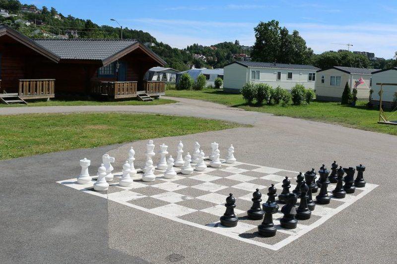 Hamre Familiecamping schaakspel