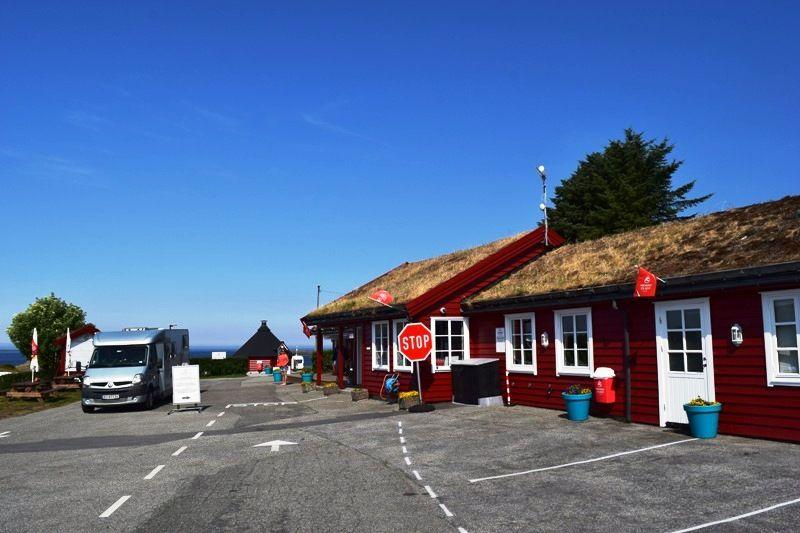 Haraldshaugen Camping entree