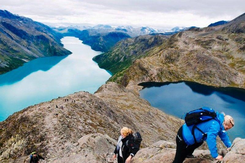 Holungsoy Camping Vaga wandelen in de Jotunheimen