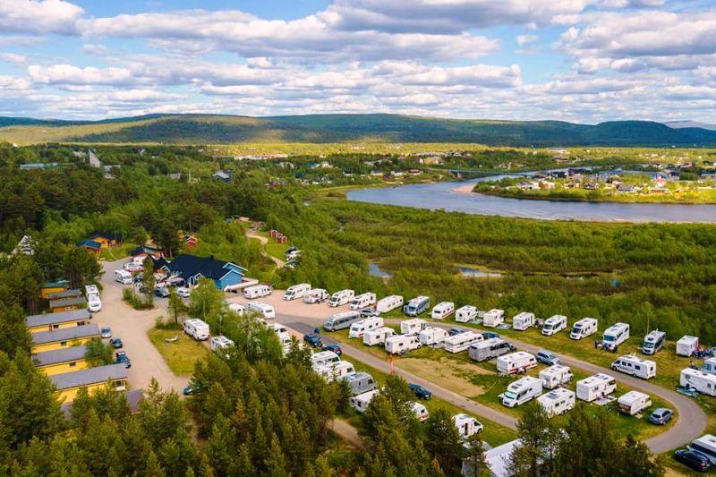 Karasjok Camping ligging
