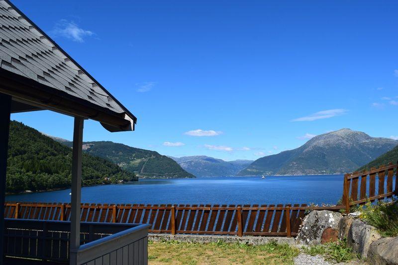 Kinsarvik Camping Hytter met uitzicht