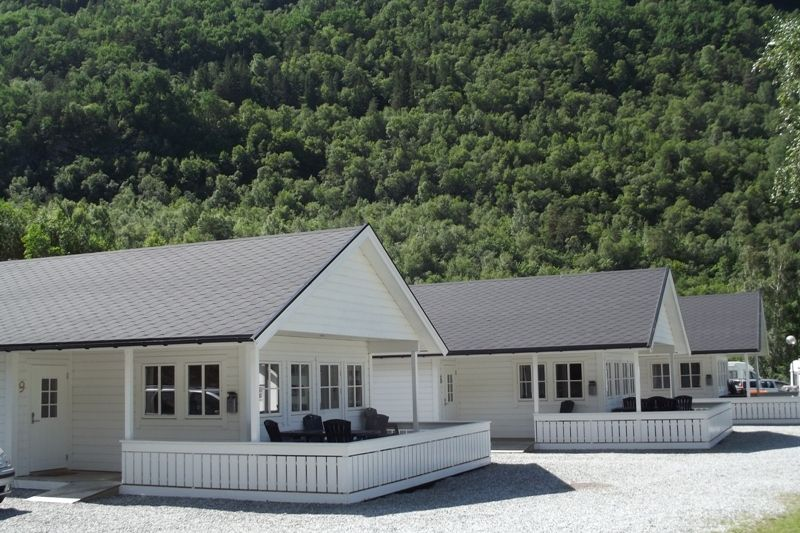 Kinsarvik Camping luxe bungalows