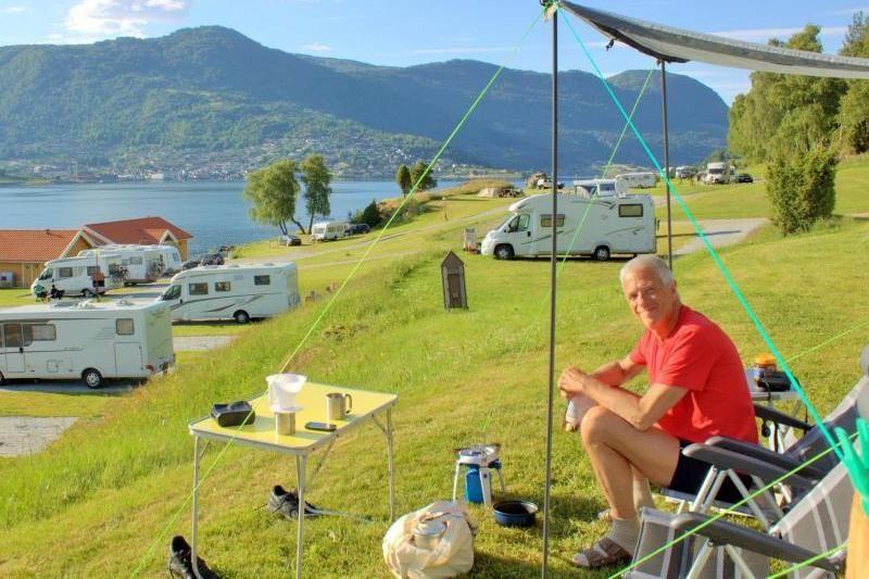 Kjornes Camping Sogndal kampeerplaatsen