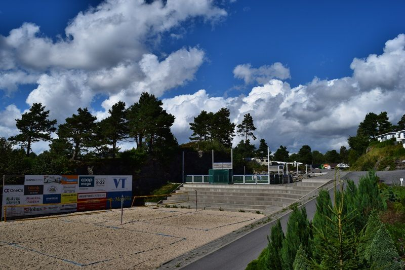 Kristiansand Feriesenter beachvolleybal