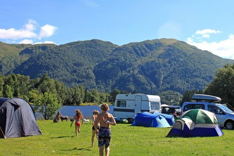 Lone Camping Bergen tentplaatsen