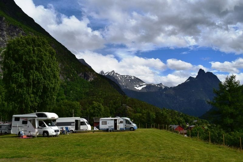 Mjelva Camping Kampeerplaatsen