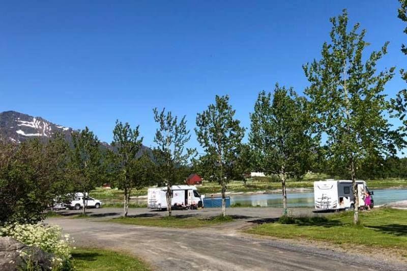 Ness Camping Skutvik Kampeerplaatsen