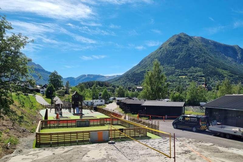 Nordal Turistsenter Lom nieuw sanitair
