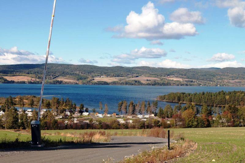 Odin Camping Royse ligging vlakbij Honefoss