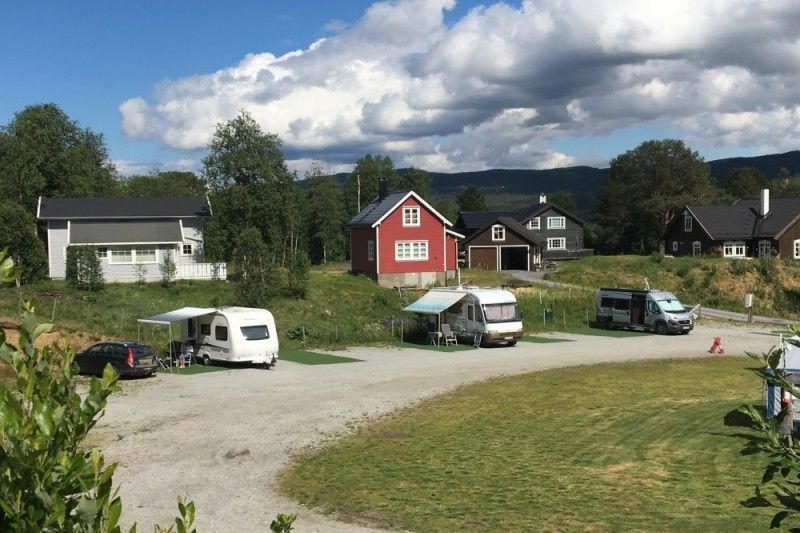 Oen Turistsenter Geilo verharde kampeerplaatsen