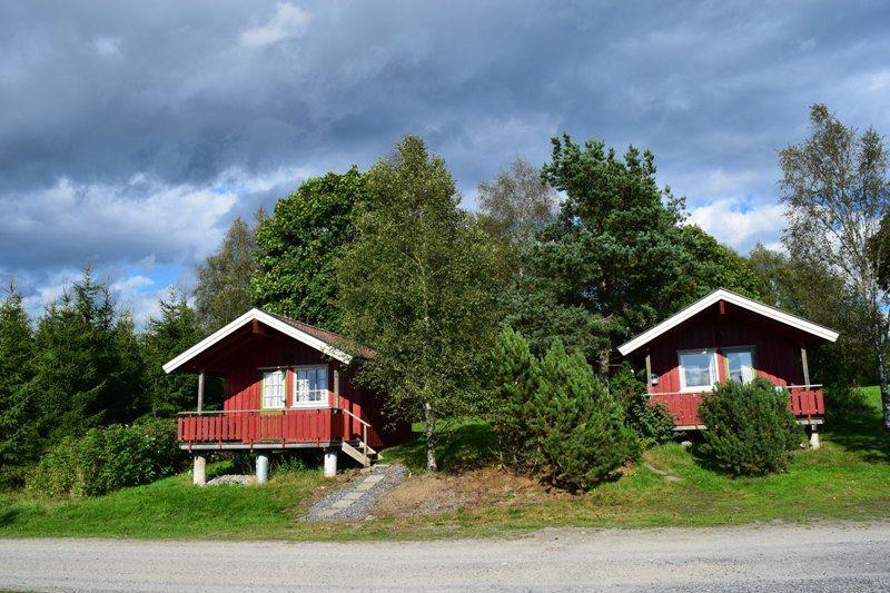 Olberg Camping hytter