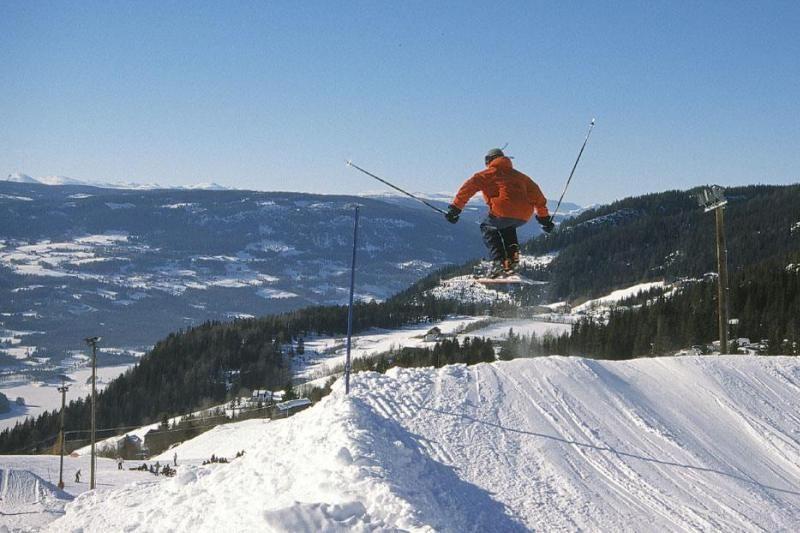 PlusCamp Aurdal Fjordcamping skien en langlaufen
