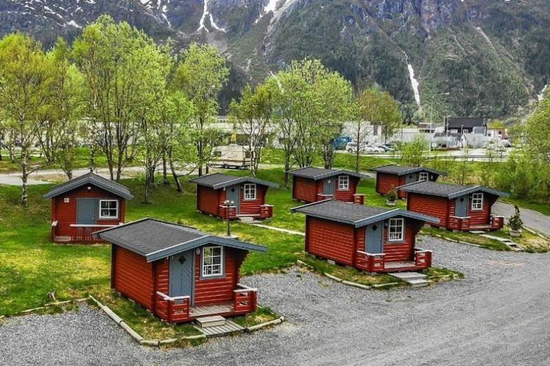 PlusCamp Mosjoen Camping kleine hytter