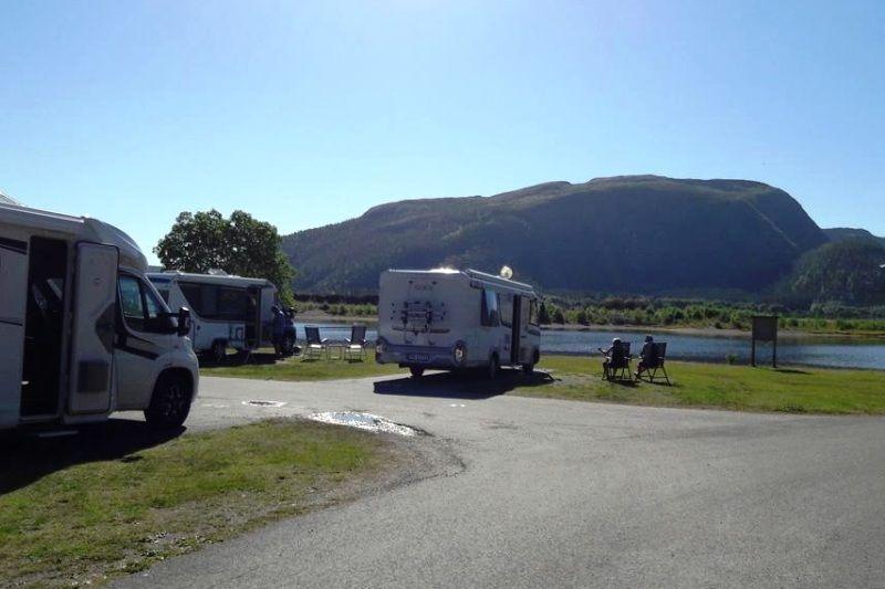 PlusCamp Namsos Camping Kamperen aan het water