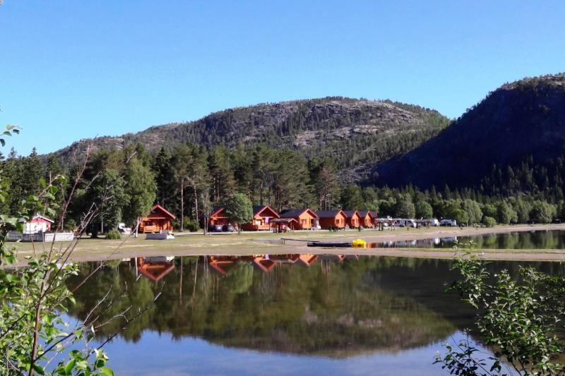 PlusCamp Namsos Camping ligging